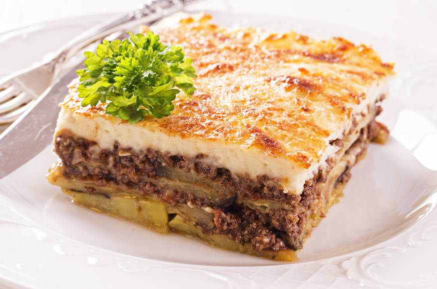 Live like a greek moussaka for Authentic greek cuisine